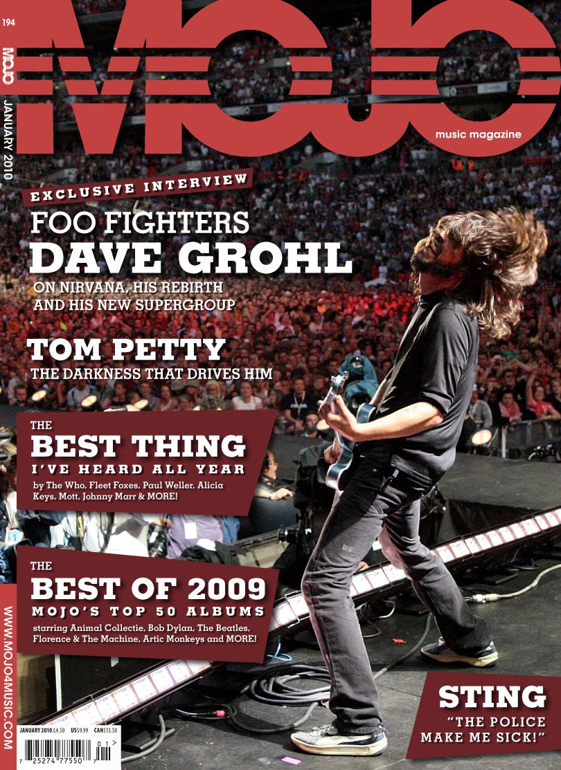 Jimmy Fisher Mojo Magazine Redesign